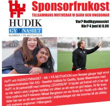 Inbjudan till sponsorfrukost om ledarskap och hur vi motiverar barn och ungdomar!