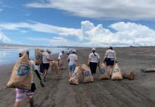 Smurfit Kappas anställda över världen arbetade för World Cleanup Day