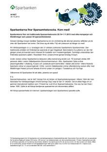 Sparsamhetsvecka 2013 pdf