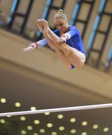 Jonna Adlerteg åtta i VM-finalen i barr i Doha