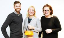 Ny podd: Linda Krondahl gör affärer med sol