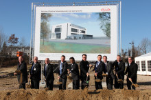 Spatenstich bei Takeda in Singen: Takeda investiert mehr als 100 Millionen Euro  in neue Produktionsstätte für Dengue-Impfstoff