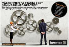 Vill du också ha mer frihet i vardagen? Välkommen på startaeget-seminarie med Berotec i Karlstad