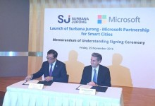 Surbana Jurong taps on Microsoft's capabilities to develop cloud-based 'Smart City in a Box'