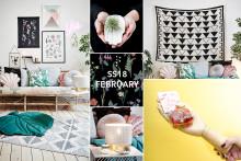 Gi hjemmet ditt nytt oksygen! Lagerhaus presenter SS18 - februar.