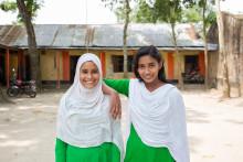 H&M finansierar projekt i Bangladesh som ger tusentals skolflickor rent vatten och toaletter