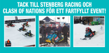 Makita tackar Stenberg Racing och Clash of Nations