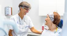 Tandröntgen kan upptäcka risk för frakturer