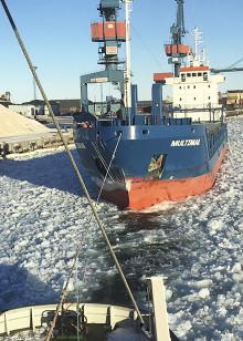 Unik studie om hur istjocklek påverkar manövrering i Luleå hamn