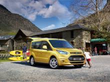 Nye Ford Tourneo Connect er første bil i sin klasse med 5 Euro NCAP-stjerner.