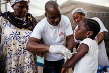 Läkare Utan Gränser vaccinerar en miljon barn mot mässling i Guinea