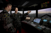 Royal Australian Navy awards major bridge simulator contract to Kongsberg Digital