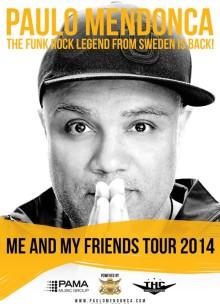 Paulo Mendonca - Sveriges Funk-kung är tillbaka och tar tillbaka scenen!