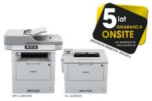 5 lat gwarancji na wybrane urządzenia wielofunkcyjne i drukarki laserowe Brother