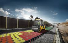 Se asfaltens densitet i realtid med Volvo Compact Assist