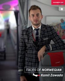 Faces of Norwegian: Kamil Zawada