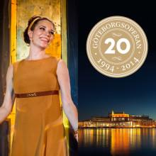 Musikaliska återblickar i GöteborgsOperans 20-årskonsert och ny chans att se succémusikalen Carmencita Rockefeller.