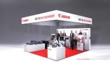 Canon visar upp sin nya bläckstråleskrivare för företag för första gången i Norden på Dustin EXPO