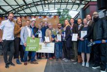 Ättika Fruktförädling från Flen i Sörmland vann Nyskaparstipendiet 2017