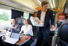 Virgin Trains new executive chef James Martin serves up sweet surprise
