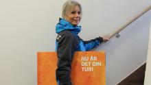 Magdalena ger sin del av Kundmiljonen till Missing People Norrbotten
