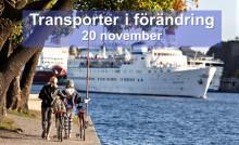 Transporter i förändring - 20 november