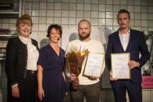 Uppsalabolaget Liqway prisas under nationella SKAPA Innovationsgalan