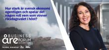 Nordeas chefekonom Annika Winsth kommer till Åre Business Forum!