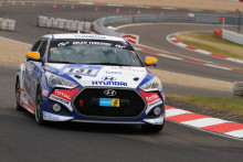 Hyundai med suksess i 24-timers race