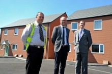 First modular homes to be built by a housing association arrive