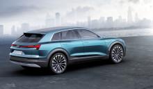 Stor interesse om Audi e-tron quattro concept på IAA