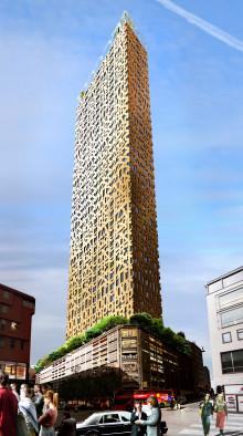 Centerpartiet föreslår ny skyskrapa i City