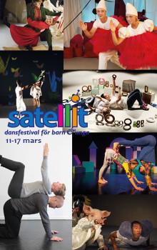 Satellit - dansfestival för barn och unga på Frölunda Kulturhus