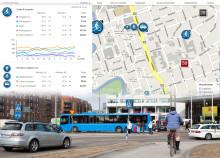 Trafikflöden visualiseras på nytt sätt