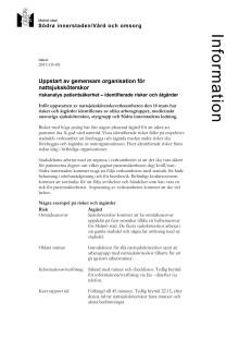 Uppstart av gemensam organisation för nattsjuksköterskor