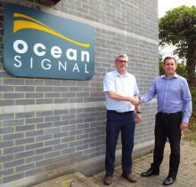 Ocean Signal: Ocean Signal Managing Director Alan Wrigley Steps Down