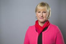 Umeå universitet möter Margot Wallström