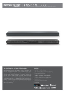 Harman Kardon Enchant 1300_Spec sheet