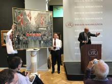 Fischer for fuld musik - maleri solgt for 2,1 mio. kr.