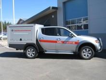 Mitsubishi levererar bilar till Jordbruksverkets veterinärer
