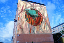 Vinnande brasilianskt konstverk blir muralmålning
