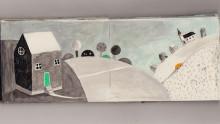 Livesänt vernissage med konstnären Frida Hammar från Umeå