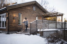 Gammel enebolig ble energismart drømmehus