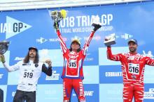 黒山健一選手が電動トライアルバイク「TY-E」で初挑戦・初優勝 2018 FIMトライアル世界選手権 TrialEクラス開幕戦
