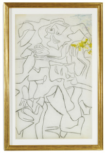 Willem de Kooning at Bruun Rasmussen's Anniversary Auction in Copenhagen