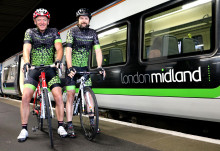 London Midland's 61 cyclists counting down to Vélo Birmingham cycle event