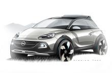 Opel ADAM ROCKS Concept: Frihet i sin mest individuella form