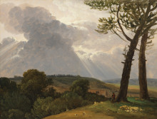 ​New acquisition: Oil sketches by Pierre Henri de Valenciennes and Simon Denis