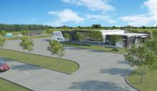 Första spadtaget för Wargön Innovations test- och demoanläggning i Vargön