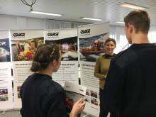 Maritime studerende i nærkontakt med rederierne